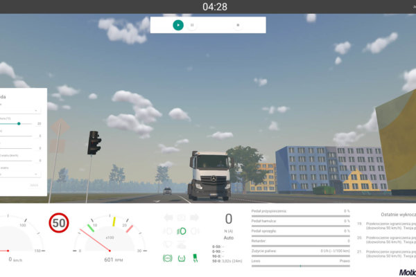 Truck Simulator TS-10 Software