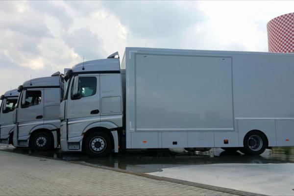 Symulator samochodu ciężarowego TS-10