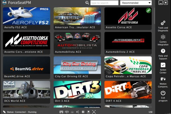 ForceSeatPM Games Dashboard