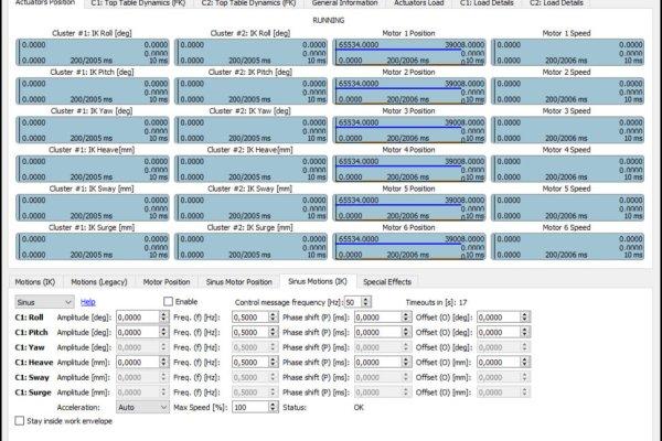 ForceSeatPM Platform Diagnostic