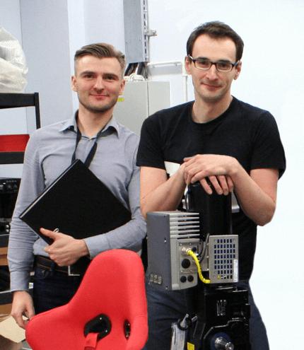 Michał Stanek i Paweł Koczan